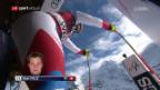 Video «Schweizer im 2. Training in Wengen weit zurück» abspielen