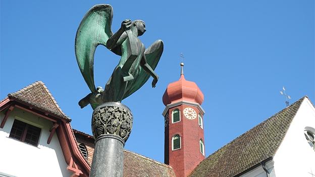 Hubert Spörri über das Alberik Zwyssig-Denkmal