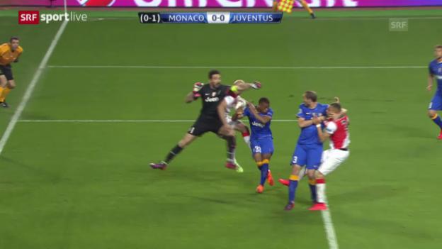Video «Fussball: Champions League, Viertelfinal-Rückspiel, Juventus - Monaco» abspielen