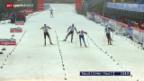 Video «Langlauf: 2. Etappe Tour de Ski» abspielen