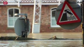 Video «Schlimmste Hochwasser in Grossbritannien seit Jahren» abspielen