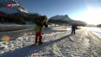 Video «Schulweg auf Langlaufskis» abspielen