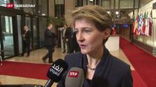 Video «EU-Minister beraten über Flüchtlingskrise» abspielen