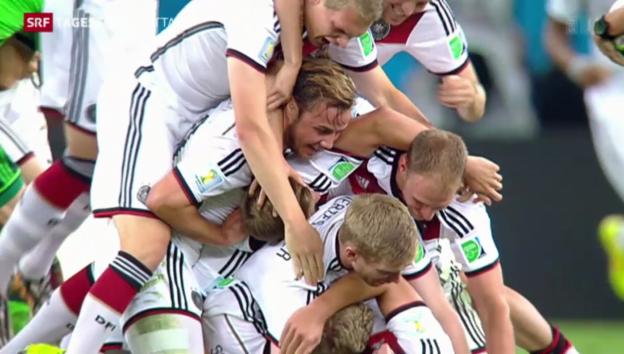 Video «Deutschland feiert vierten WM-Titel» abspielen