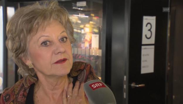 Video «Susanne Leutenegger Oberholzer: «Der Film ist völlig apolitisch»» abspielen