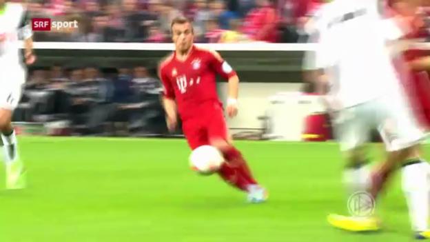 Video «Xherdan Shaqiris erfolgreiche Saison» abspielen