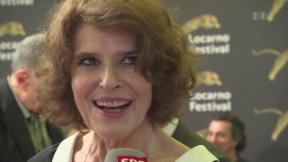 Video «Mit Fanny Ardant in Locarno» abspielen