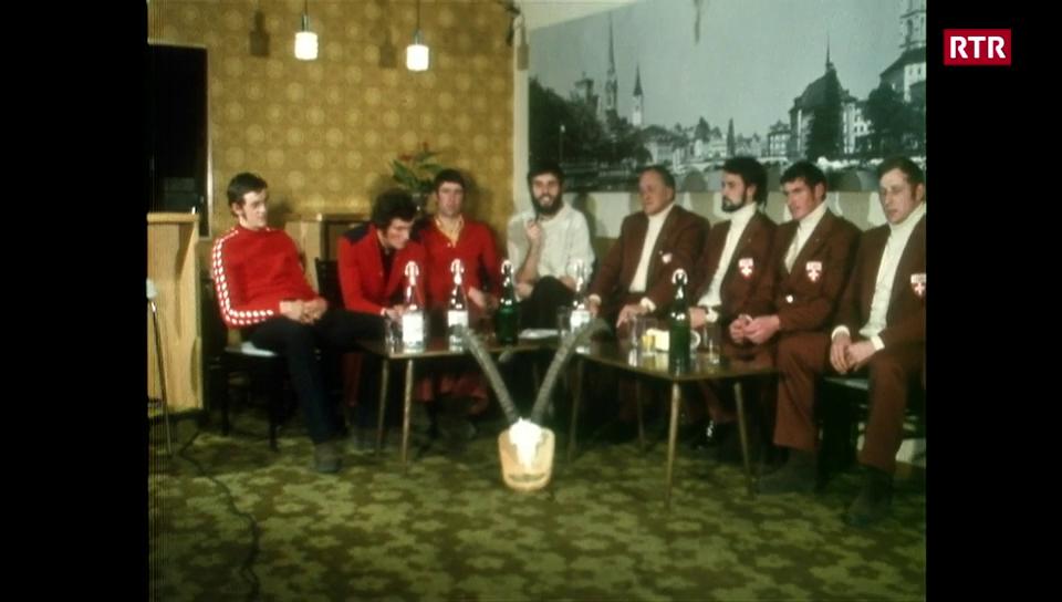 Sapporo 1972 cun atlets rumantschs