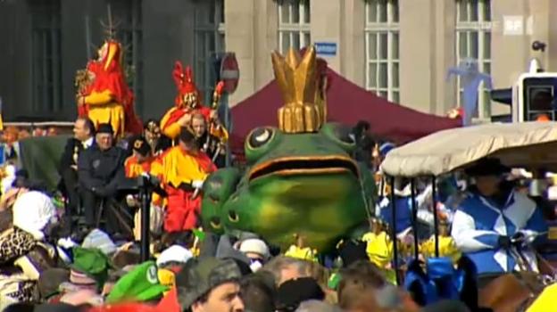 Video «Luzerner Fasnacht 2011» abspielen