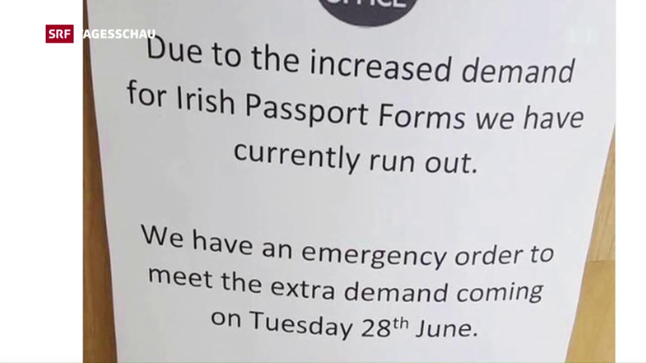 Run auf den irischen Pass