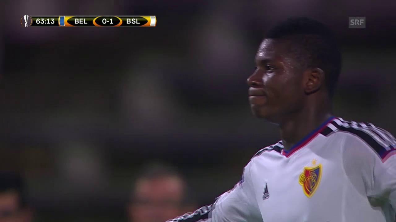 Fussball: Europa League, Belenenses - Basel, 0:2