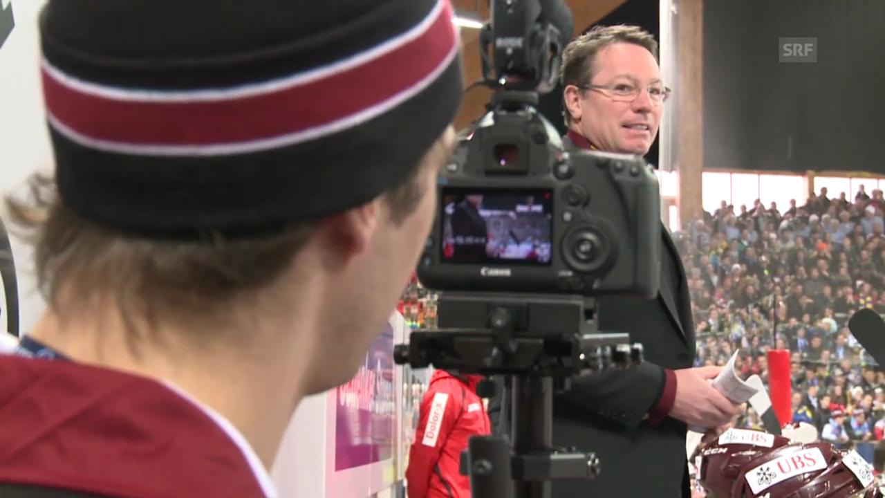 Eishockey: Spengler Cup, Servette Inside («sportlive», 31.12.2013)
