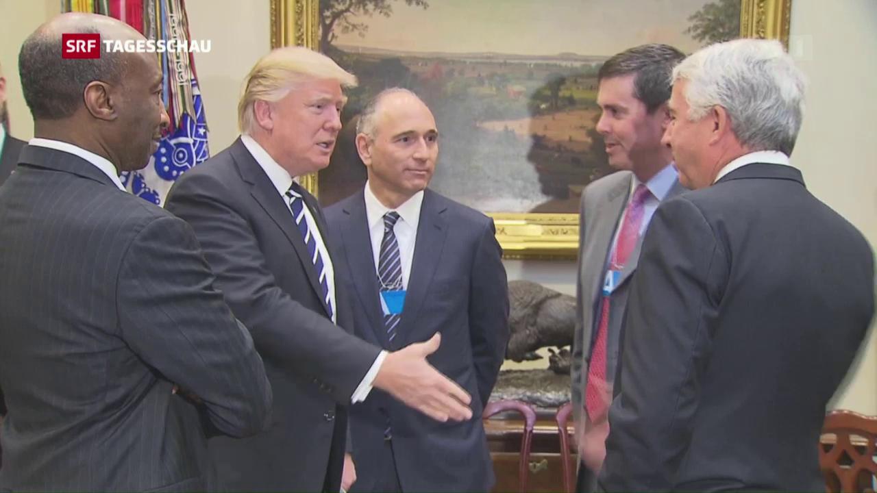 Trump zieht auch bei der Pharmabranche Zügel an