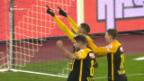 Video «YB gewinnt in Zürich mit 2:1» abspielen