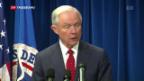 Video «Trump erlässt neue Einreiseverbote» abspielen