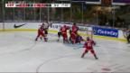 Video «U20-Junioren wehrten sich tapfer» abspielen