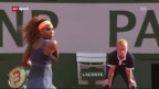 Video «Halbfinal Williams - Errani («sportaktuell»)» abspielen
