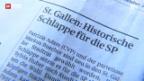 Video «Nach historischer Schlappe: SP St. Gallen gibt sich kampfeslustig» abspielen