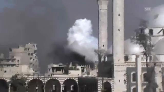 Tote, Verletzte und Zerstörung in Syrien (unkomm.)