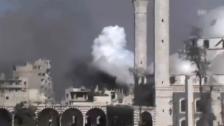 Video «Tote, Verletzte und Zerstörung in Syrien (unkomm.)» abspielen