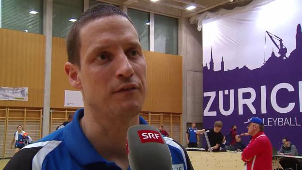 Video «Aesch-Trainer Lippuner: «Bin sehr enttäuscht»» abspielen