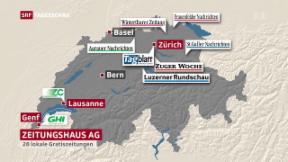 Video «Tauschgeschäft in Schweizer Medienlandschaft» abspielen