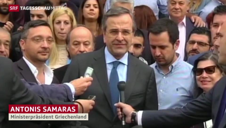 Antonis Samaras muss sich fürchten