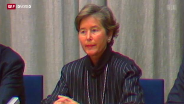 Video «Der Fall von Elisabeth Kopp» abspielen