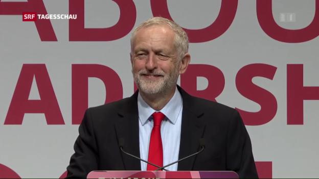 Video «Jeremy Corbin wieder Vorsitzender der Labour-Partei» abspielen