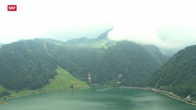 Video «Seilbahnunglück Alp Bärlaui» abspielen