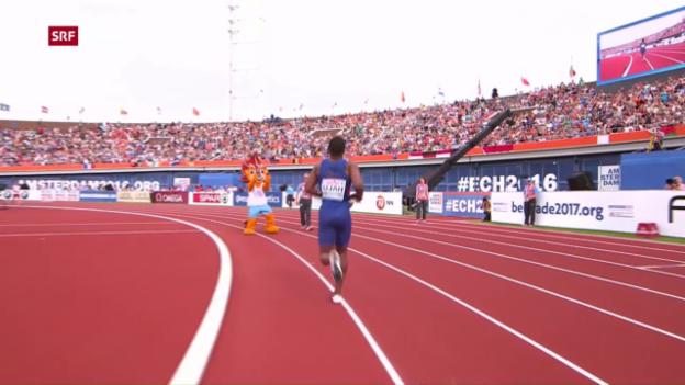 Video «Die Highlights des letzten Tages der Leichtathletik-EM» abspielen