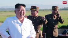 Link öffnet eine Lightbox. Video Nordkorea testet die dritte Rakete in diesem Monat abspielen