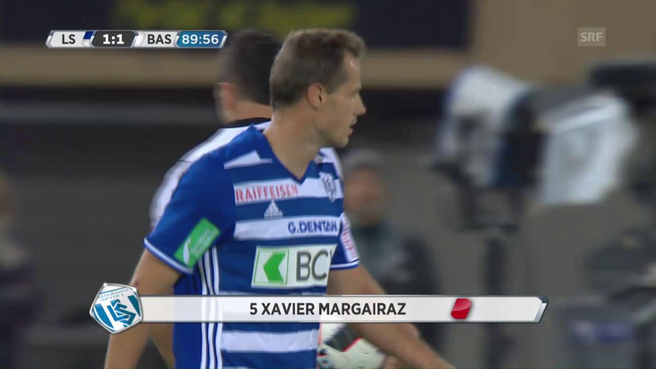 Margairaz' Foul an Steffen