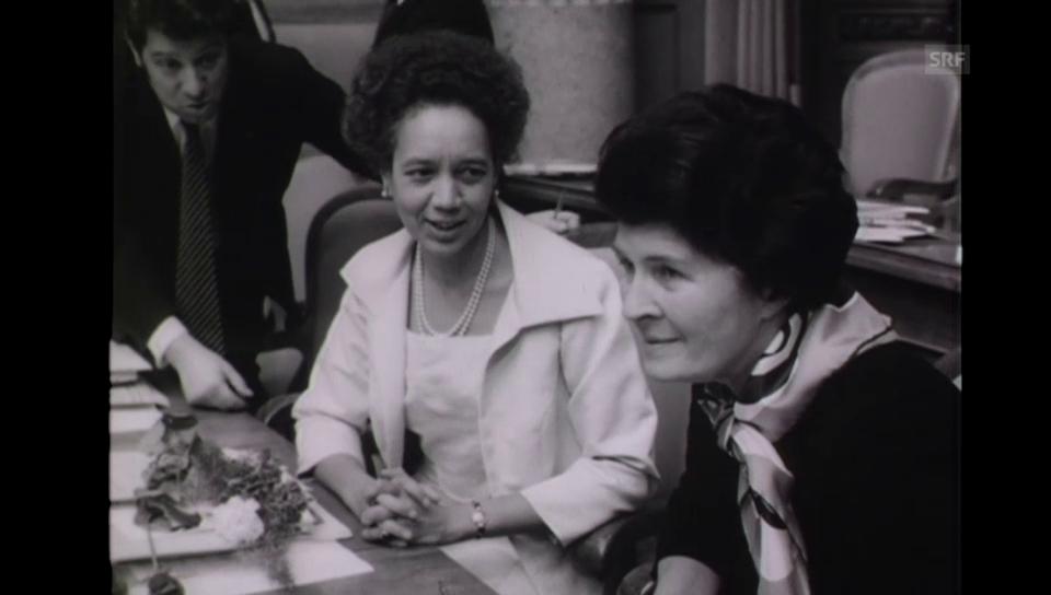 39. Legislatur: Die ersten Frauen im Parlament