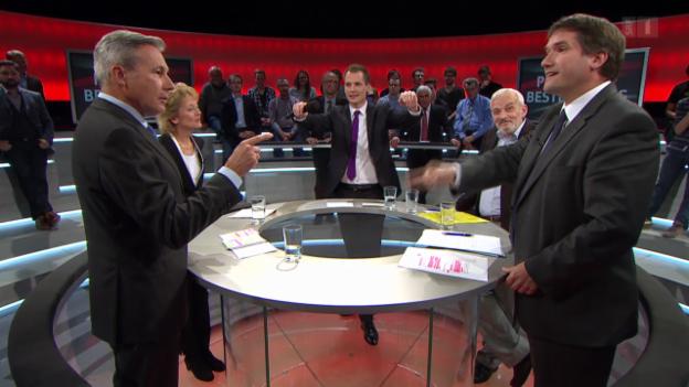 Video «Abstimmungs-Arena: Pauschalbesteuerung abschaffen?» abspielen