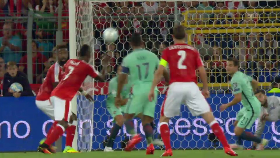 Embolos Tor gegen Portugal in der WM-Quali