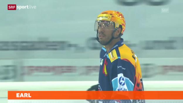 Video «Eishockey: Robbie Earl zu Zug («sportlive»)» abspielen