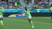 Link öffnet eine Lightbox. Video Live-Highlights Nigeria-Island abspielen