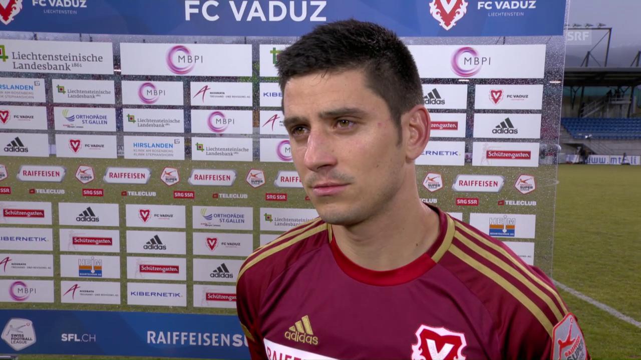 Costanzo: «In der 1. Halbzeit waren wir gar nicht im Spiel»