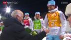 Video «Sotschi: Biathlon, Mixed-Staffel» abspielen