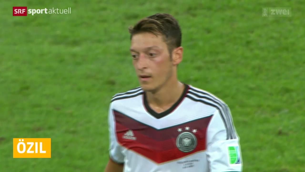 Fussball: Mesut Özil fällt aus