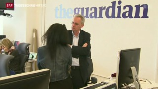 Video «Pulitzer-Preis für NSA-Enthüllungen» abspielen