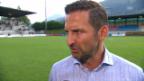 Video «Zinnbauer: «Wir hätten das Spiel gewinnen können»» abspielen