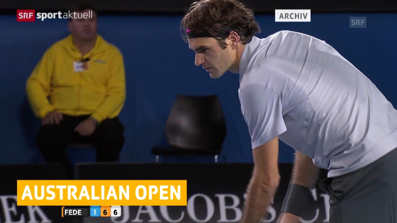 Tennis: Australian Open, Federer und Wawrinka starten («sportlive», 10.01.2014)