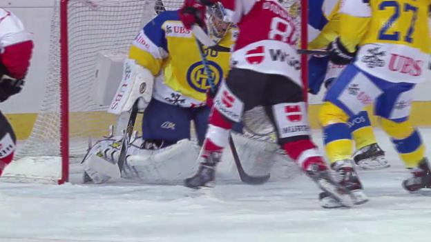 Video «Eishockey: Spengler Cup, Zusammenfassung Team Canada - Davos» abspielen