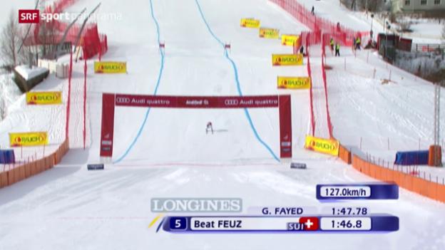 Video «Ski: Die Erfolge von Beat Feuz» abspielen