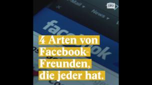 Video «4 Arten von Facebook-Freunden, die jeder hat.» abspielen