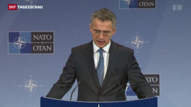 Video «Nato-Einsatz gegen Schlepper» abspielen