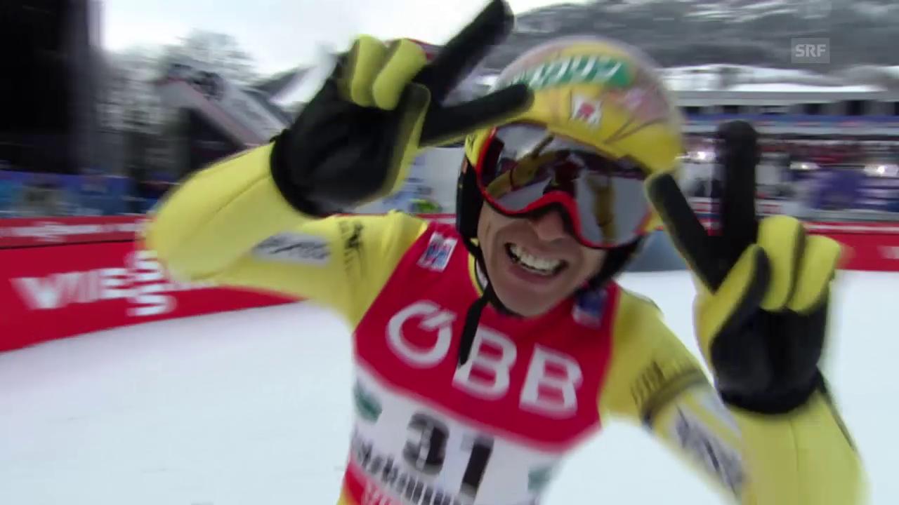 Noriaki Kasai springt an der Skiflug-WM am Kulm Schanzenrekord
