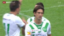 Video «Fussball: Cup, Hausen am Albis - St.Gallen» abspielen